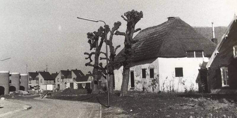 Boerderij de Grote Geer in de jaren 80