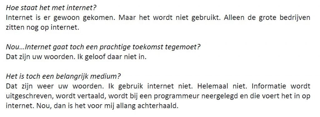 Interview Chriet Titulaer