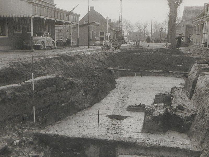 De vondst van de villa in Halta